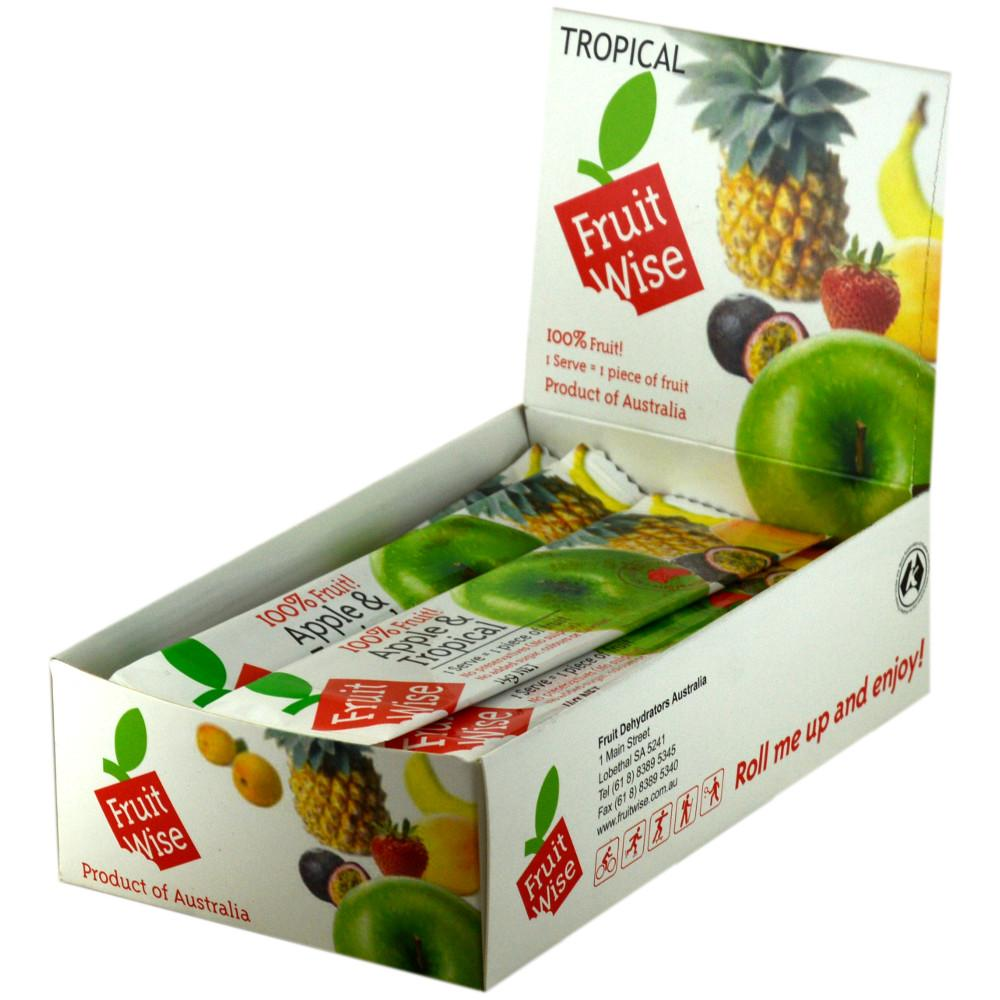 CASE PRICE  Fruit Wise Apple and Tropical Chews 14g x 30
