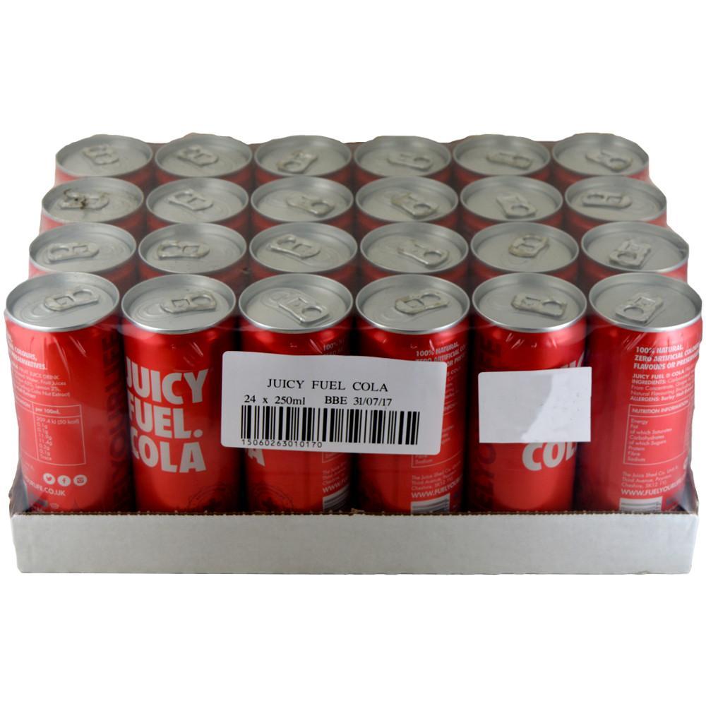 CASE PRICE  Juicy Fuel Cola 250ml x 24