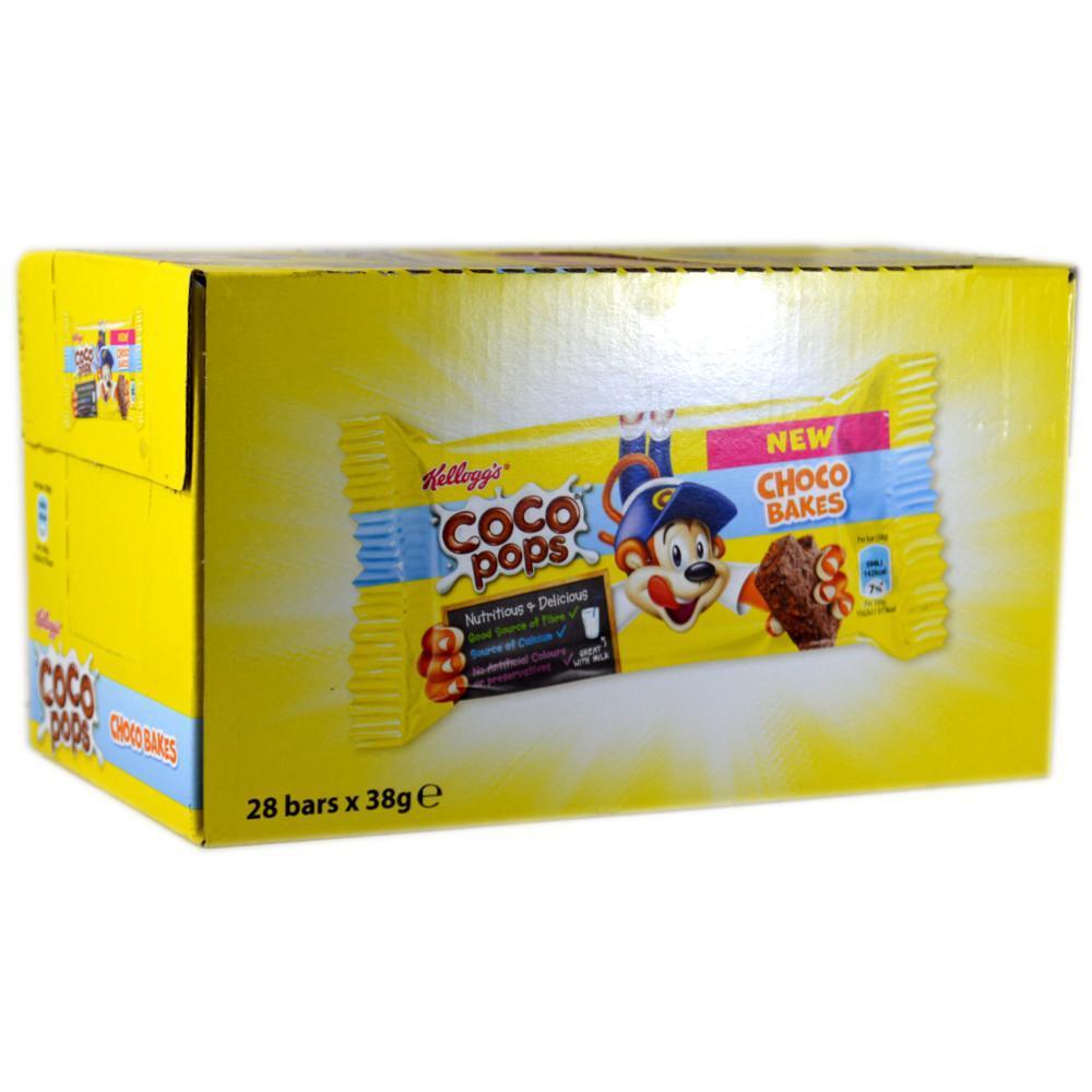 CASE PRICE  Kelloggs Coco Pops Choco Bakes 38g x 28