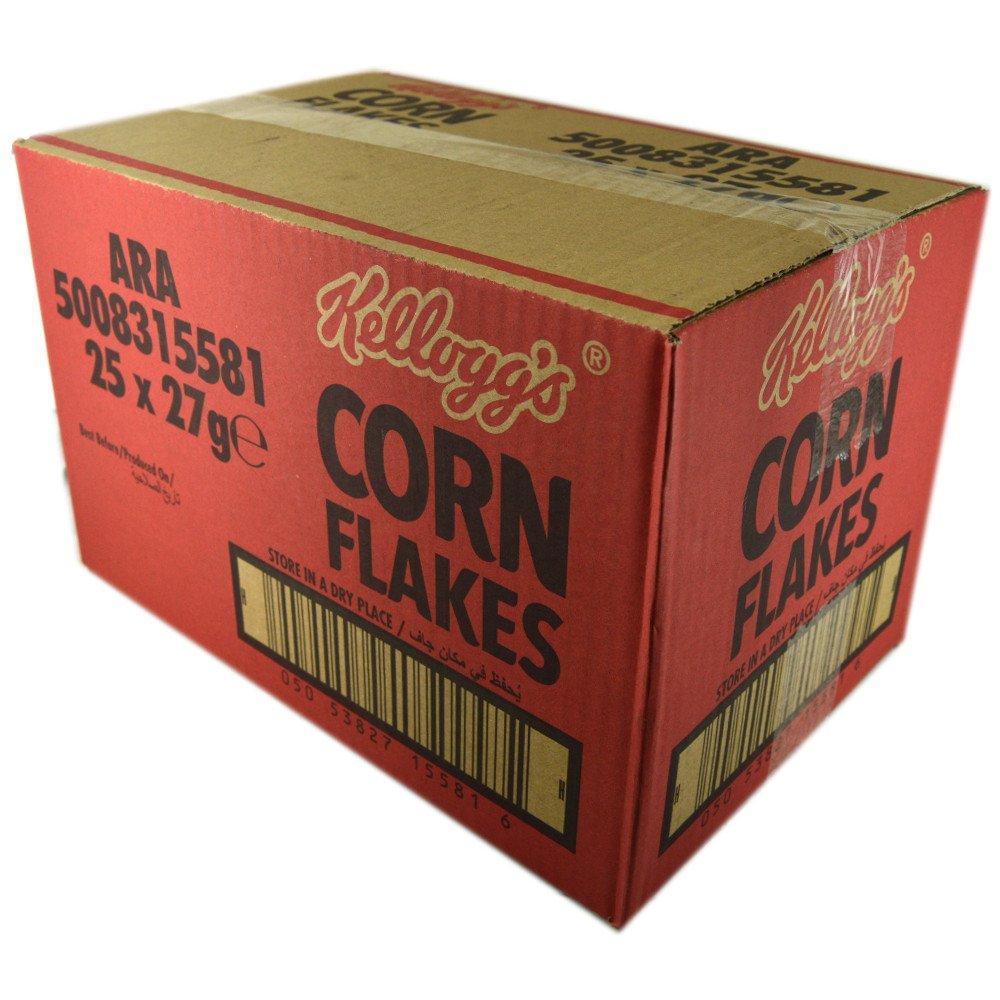 CASE PRICE  Kelloggs Corn Flakes 27g x 25