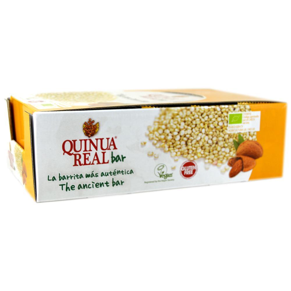 CASE PRICE  Quinua Real Organic Almond Bar 20g x 20