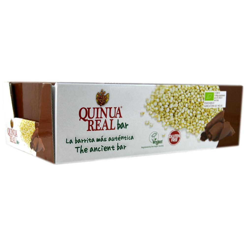 CASE PRICE  Quinua Real Organic Cacoa Bar 20g x 20