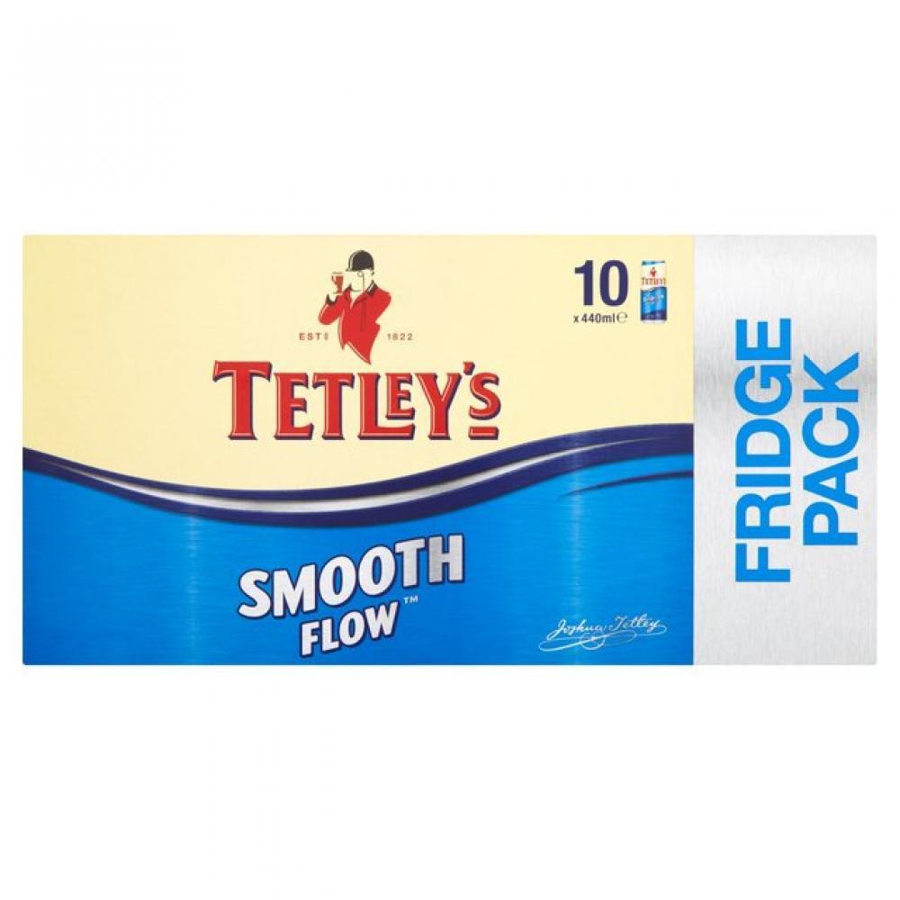 CASE PRICE  Tetleys Smooth Flow 440ml x 10
