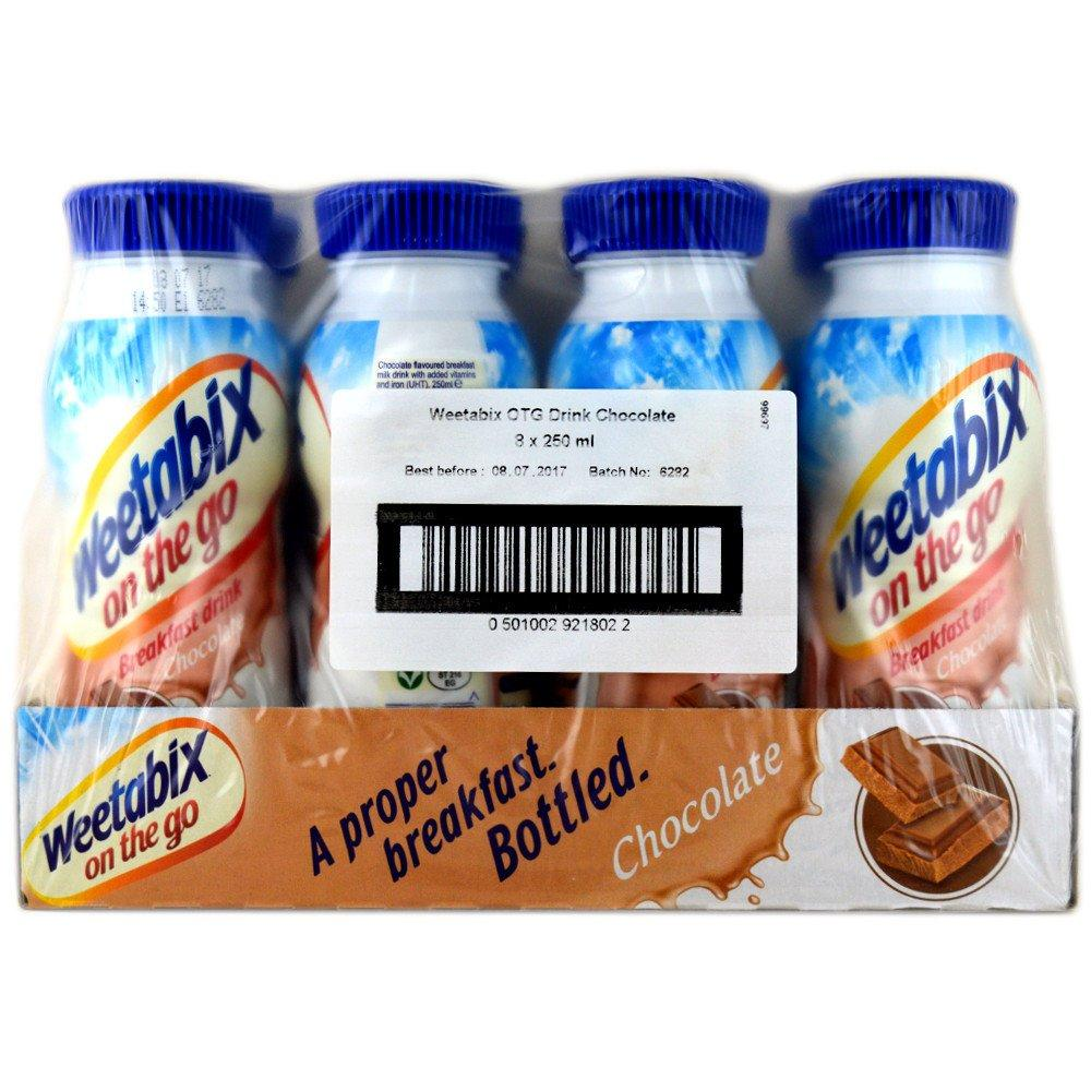 CASE PRICE  Weetabix On The Go Chocolate Breakfast Drink 250ml x 8