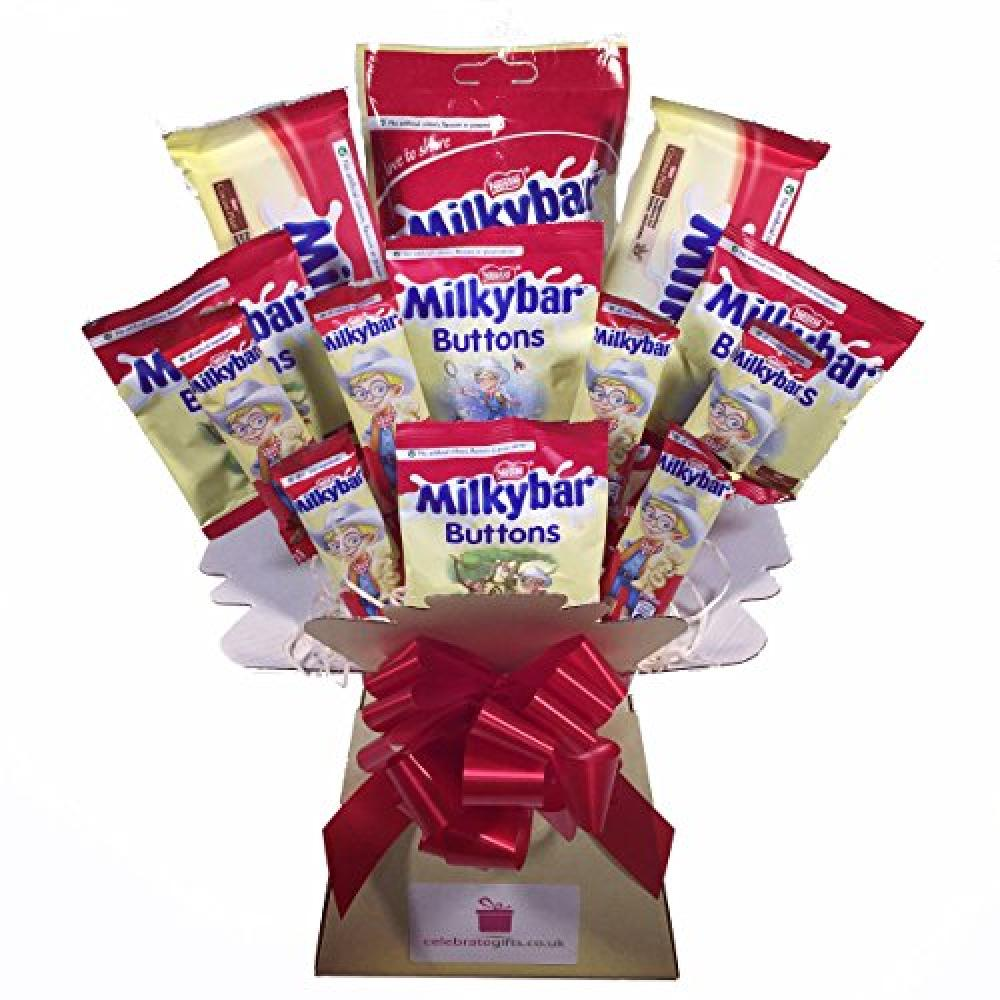 Celebrate Gifts Chocolate Bouquet Nestle Milkybar