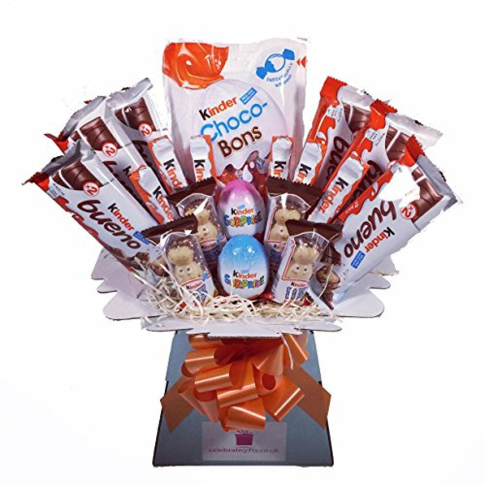 Celebrate Gifts Ltd Kinder Chocolate Bouquet