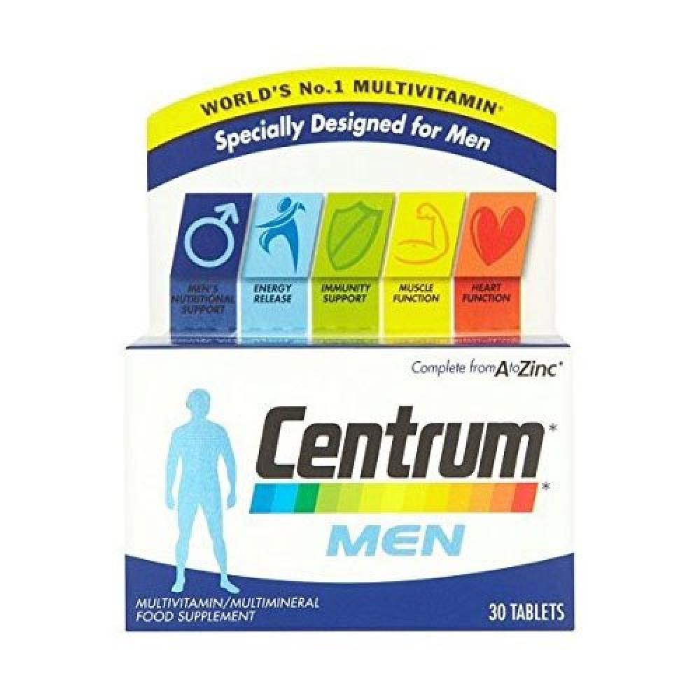 Centrum Complete A-Z Multivitamins for Men 30 Tablets