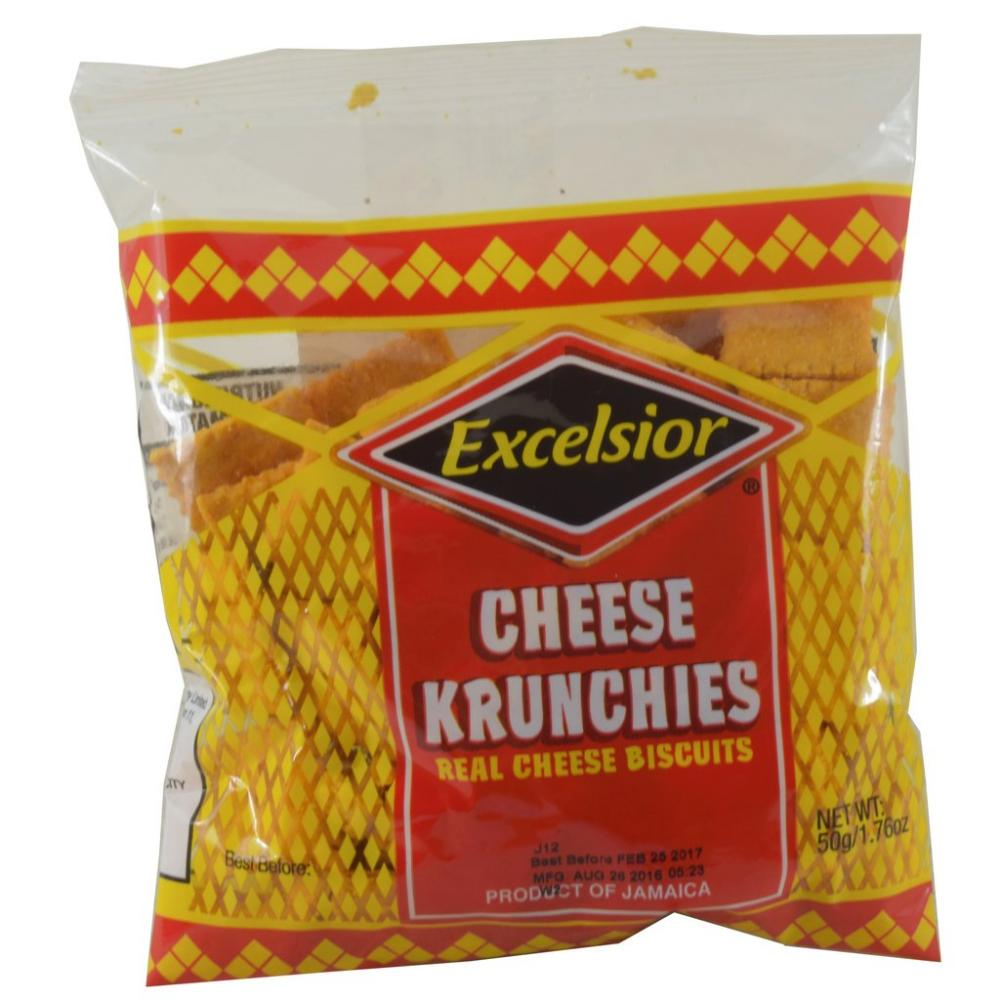 Excelsior Cheese Krunchies 50g