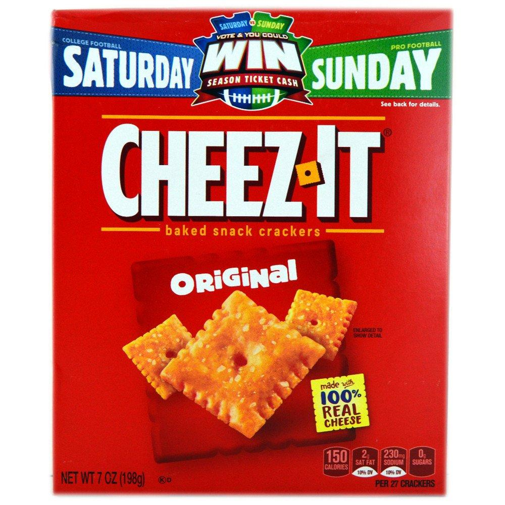 Cheez It Original Baked Snack Crackers 198g 198g