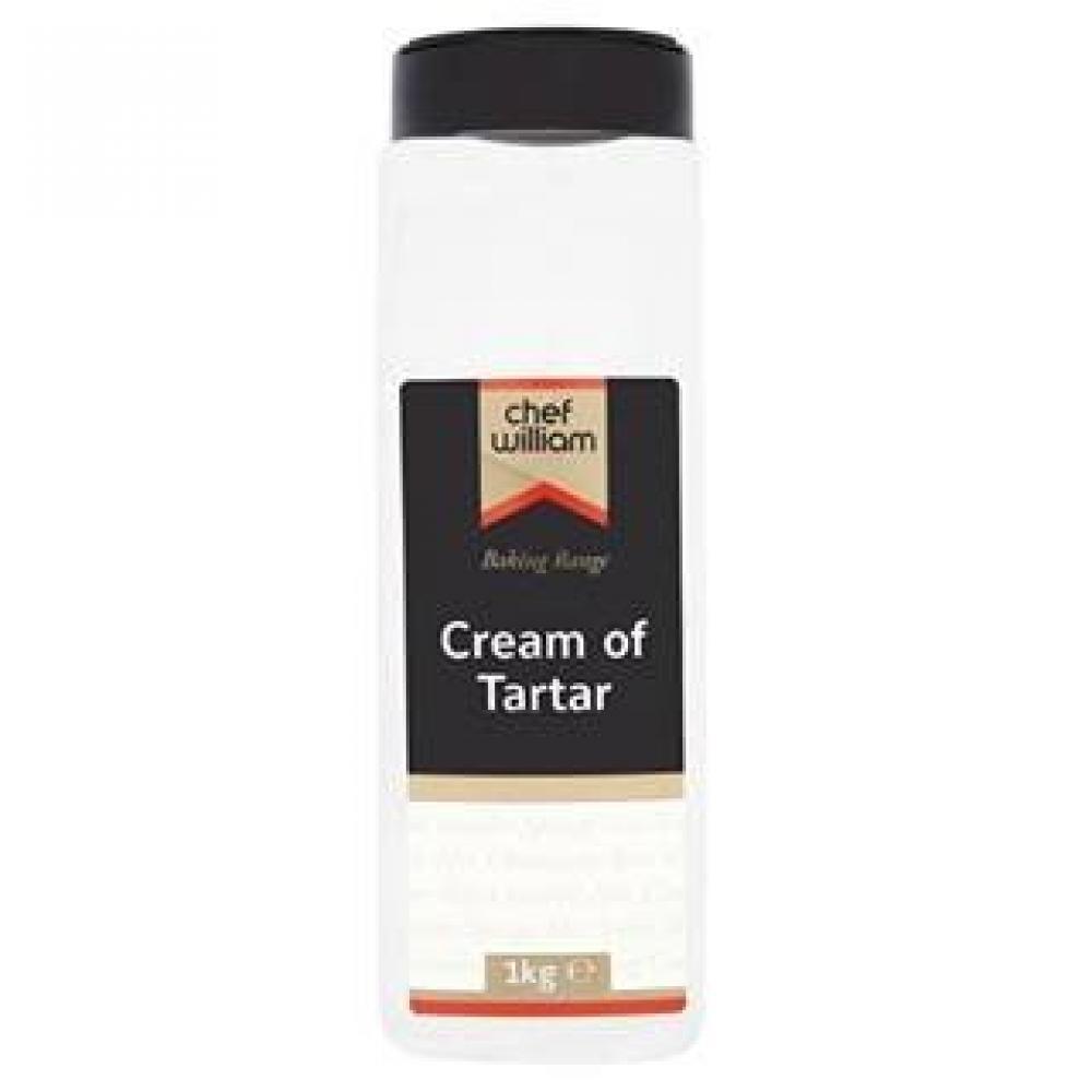 Chef William Chef William Cream of Tartar 1kg