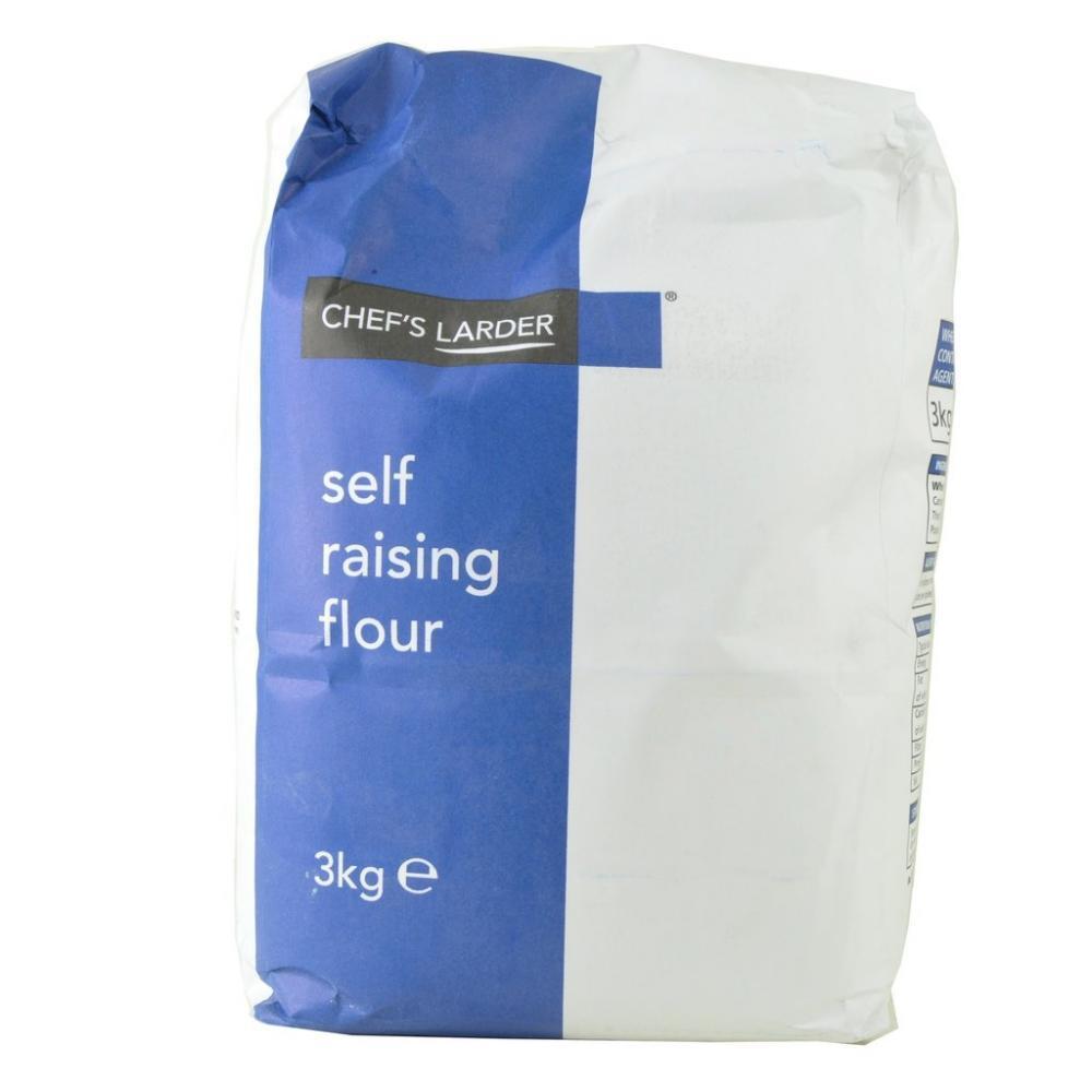 Chefs Larder Self Raising Flour 3kg