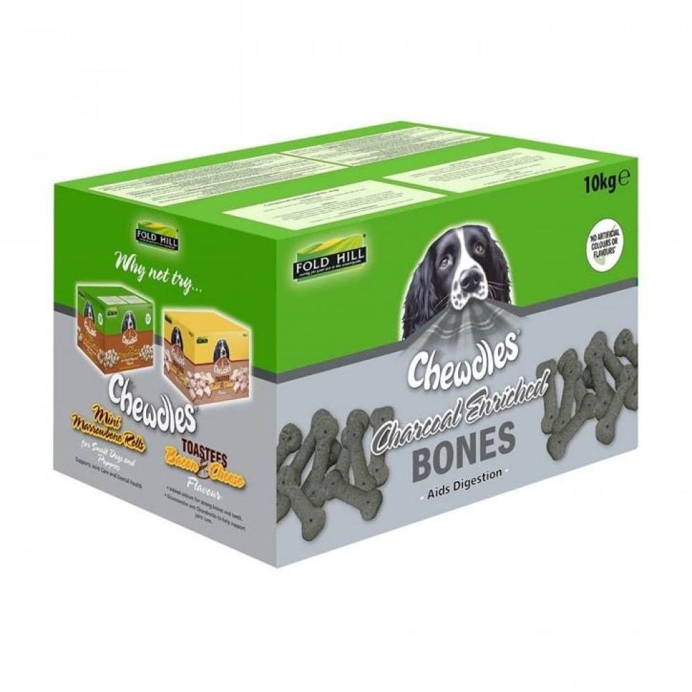 Chewdles Charcoal Enriched Bones 10kg