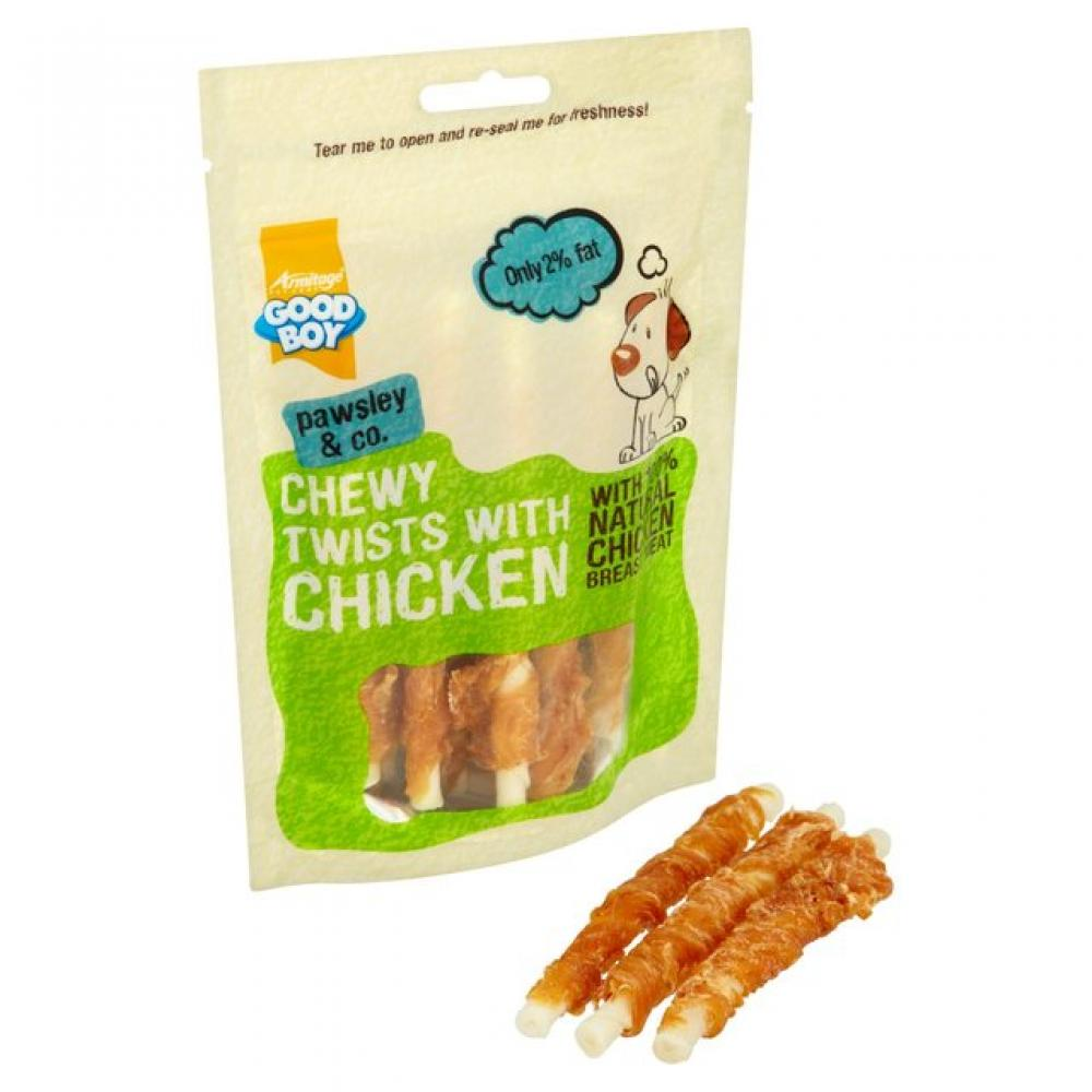 Good Boy Chewy Twists With Chicken 90g