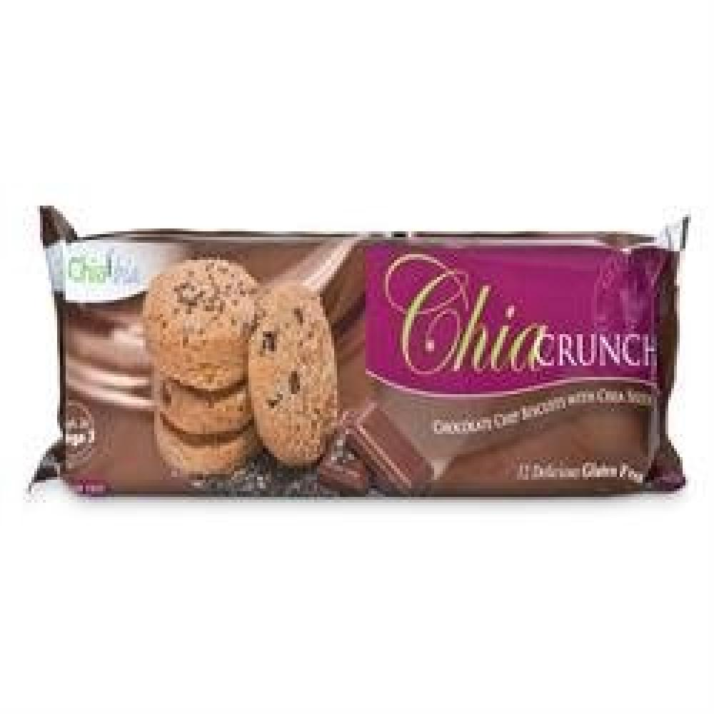 ChiaBia Chia Crunch Chocolate Chip Biscuit With Chia Seeds 150g