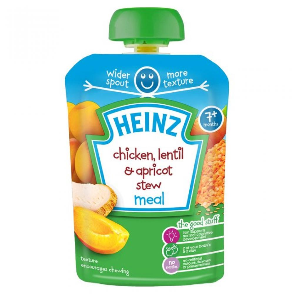 Heinz Chicken and Lentil and Apricot Stew Meal 130g
