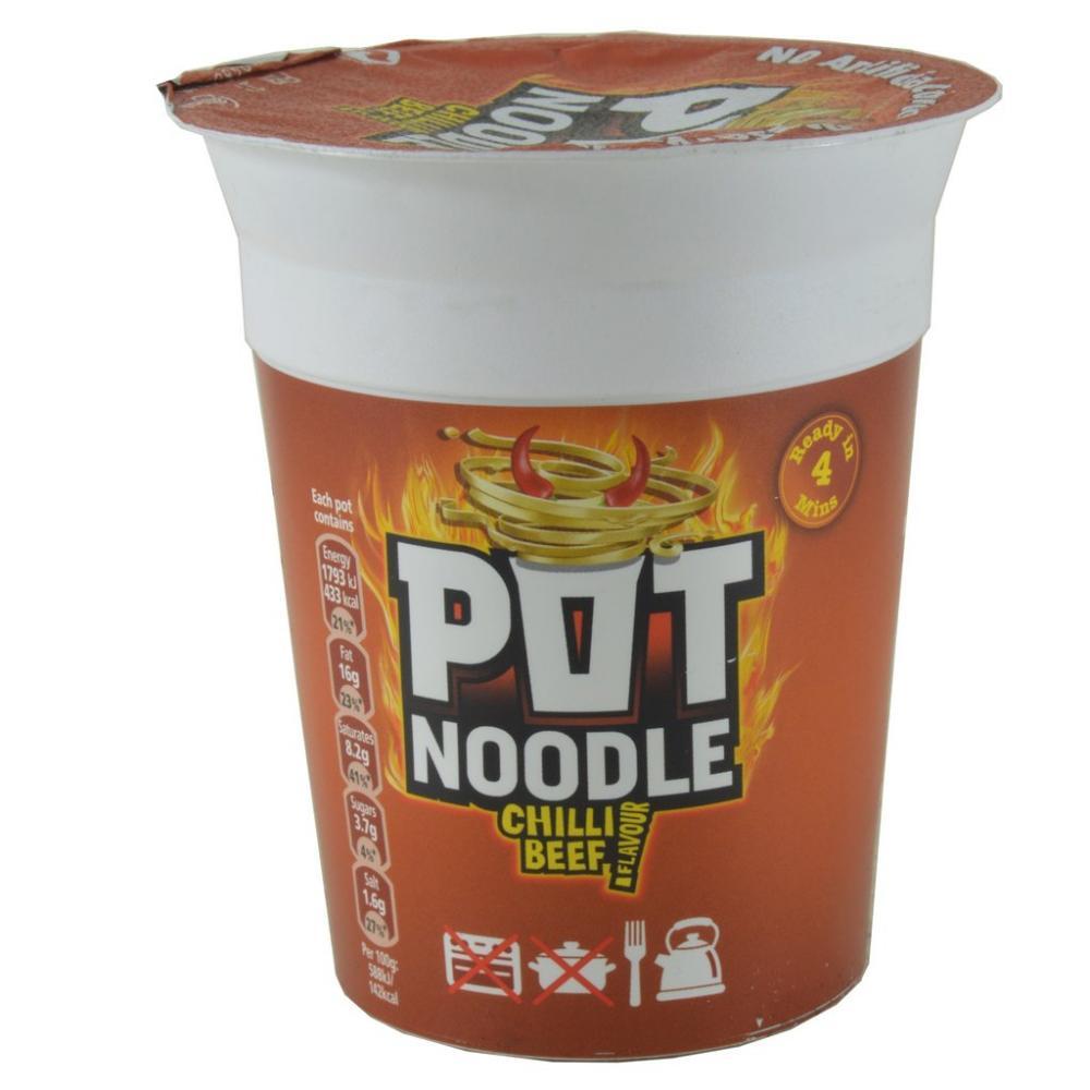 Pot Noodle Chilli Beef Flavour 90g