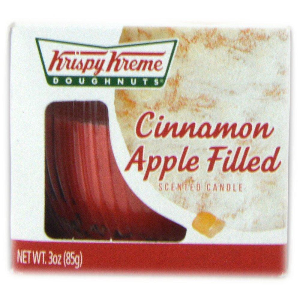 Krispy Kreme  Krispy Kreme Cinnamon Apple Filled Scented Candle