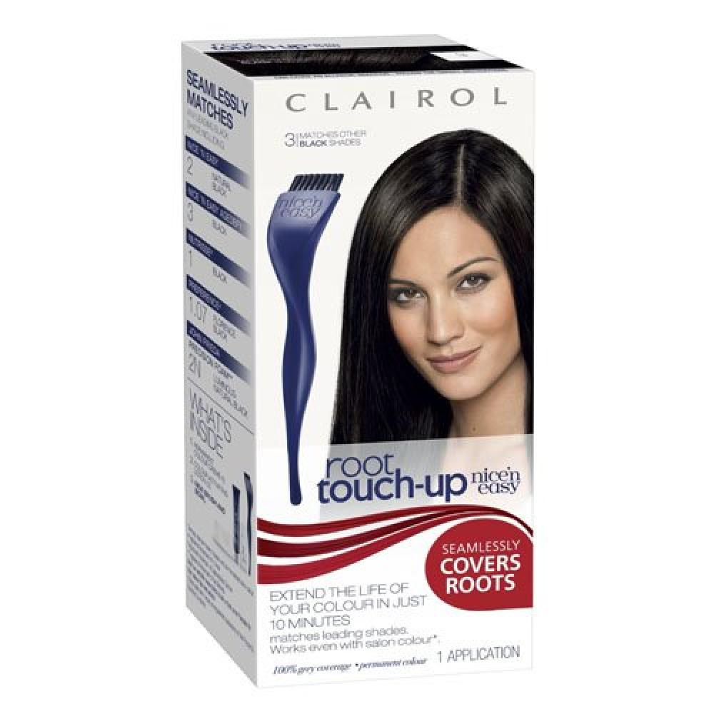 Clairol Nice and Easy Root Touch Up Permanent Hair Dye - Black 3