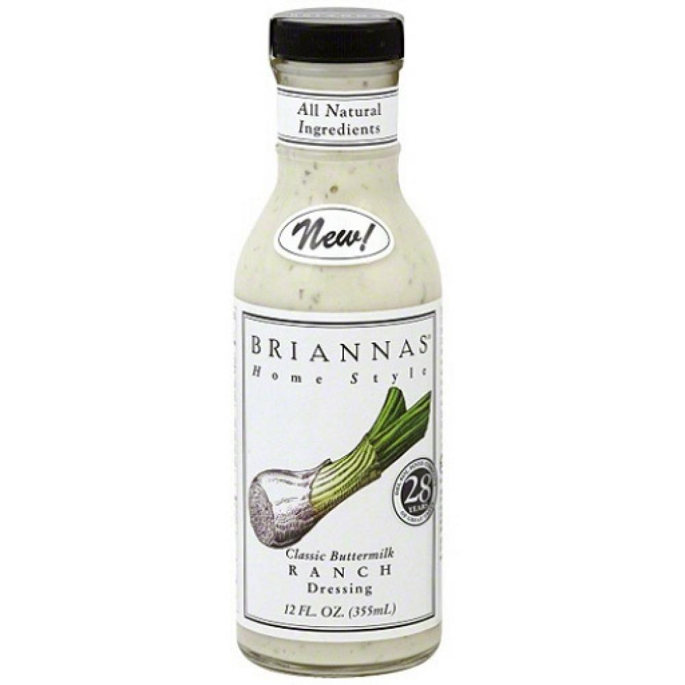 FURTHER REDUCTION  Briannas Classic Buttermilk Ranch Dressing 355ml
