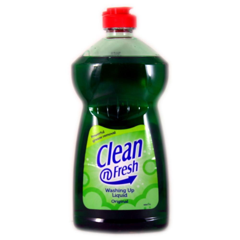 Clean N Fresh Washing Up Liquid Original 500ml