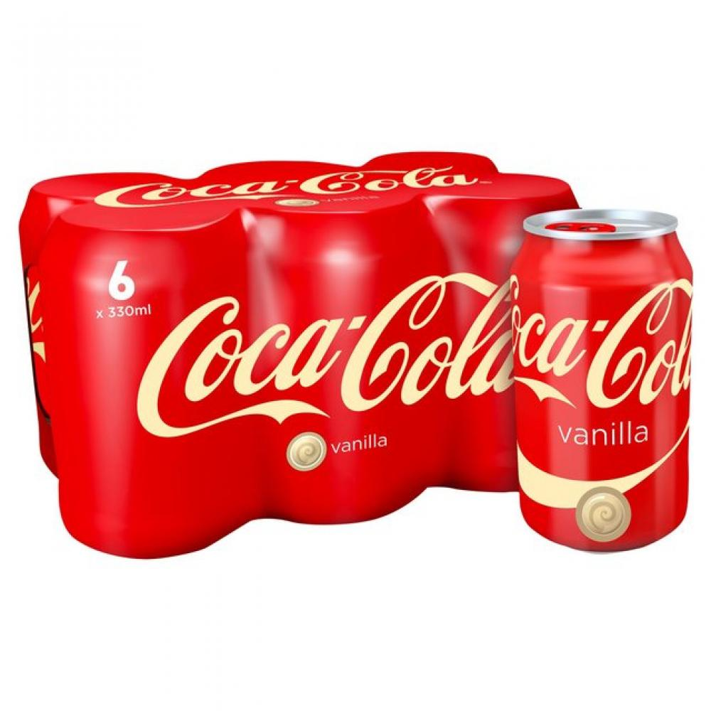 Coca Cola Vanilla 330ml x 6
