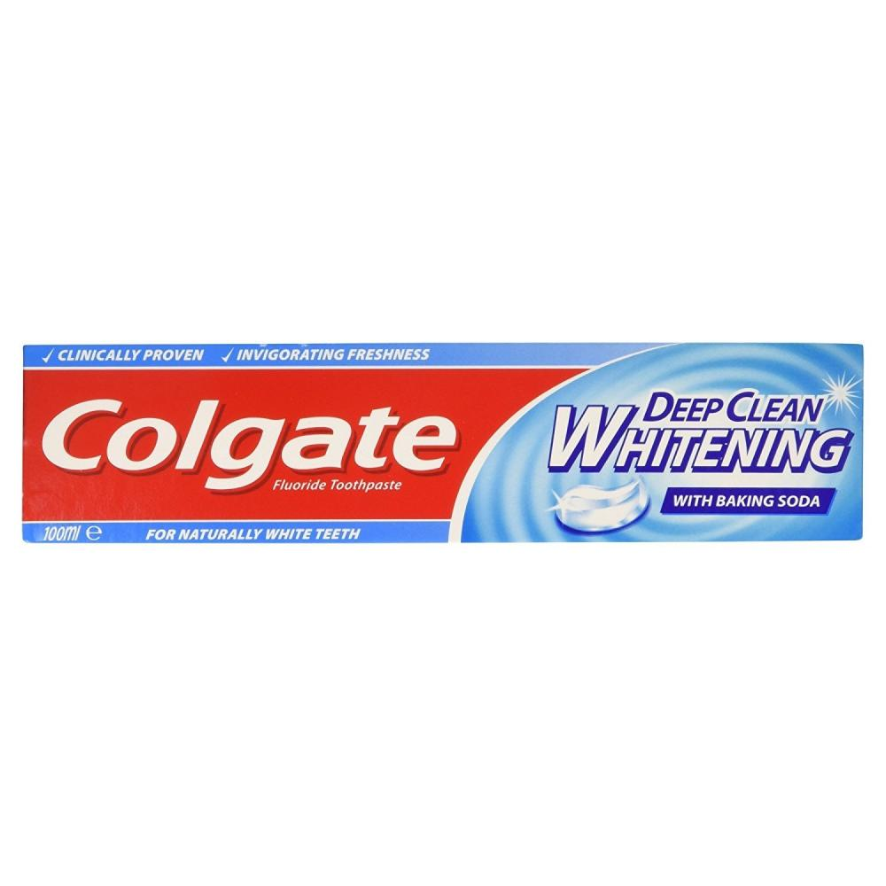 Colgate Deep Clean Whitening Toothpaste 100ml