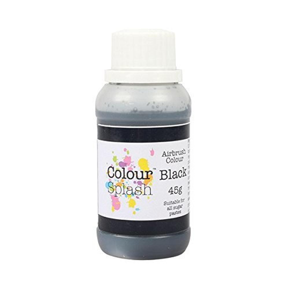 Colour Splash Black Airbrush Colour 45 g