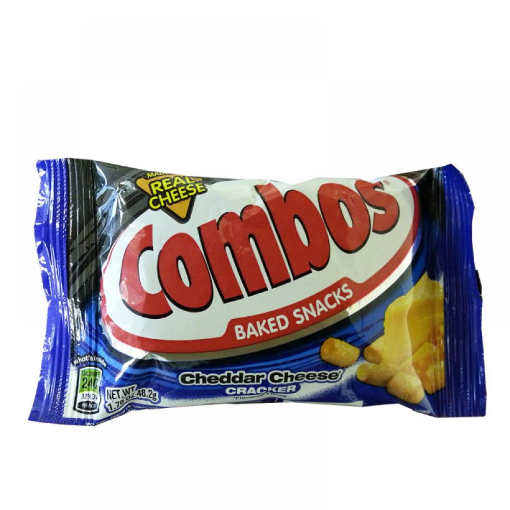 Combos Cheddar Cheese Cracker 48.2g 48.2g 48.2g