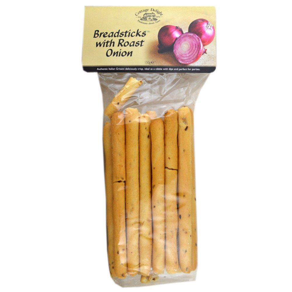 Cottage Delight Breadsticks with Roast Onion 150g