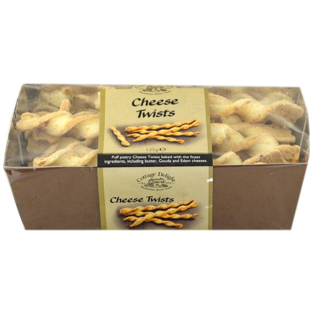 Cottage Delight Cheese Twists 125g