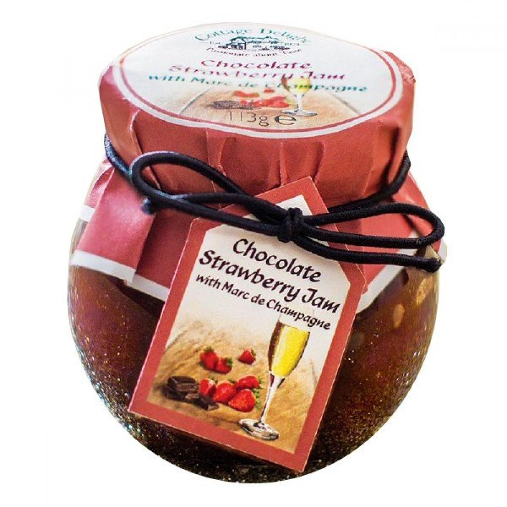 Cottage Delight Chocolate Strawberry Jam 113g