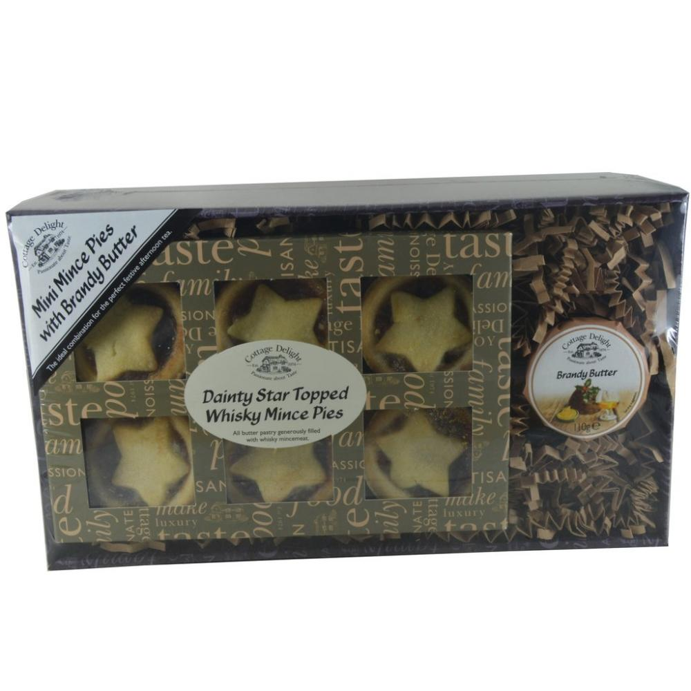 Cottage Delight Mini Mince Pies With Brandy Butter
