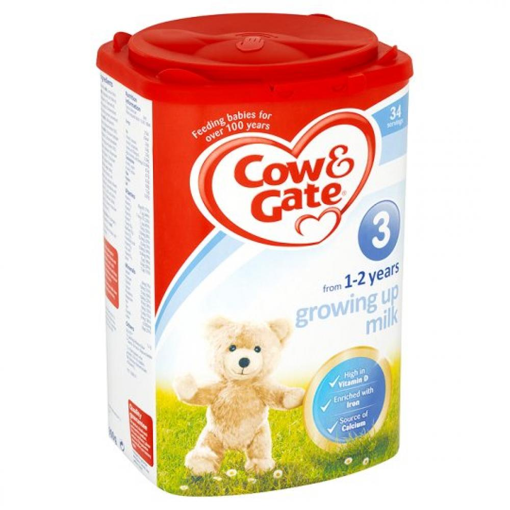 Cow and Gate Growing Up Milk Powder 1-2 Years 900g