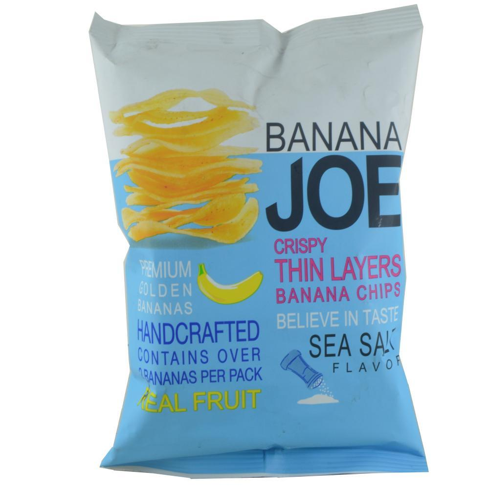 Banana Joe Crispy Thin Layers Sea Salt Flavour 50g