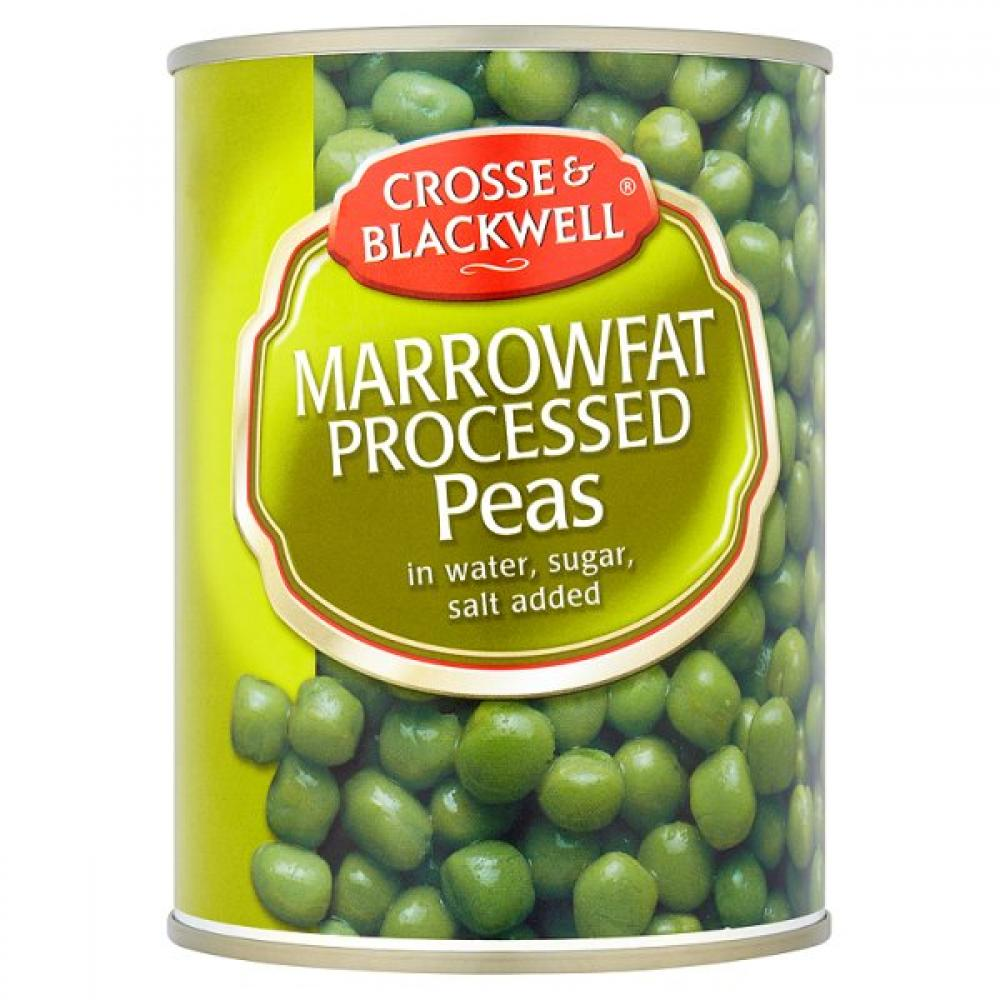Crosse and Blackwell Marrowfat Processed Peas 550g