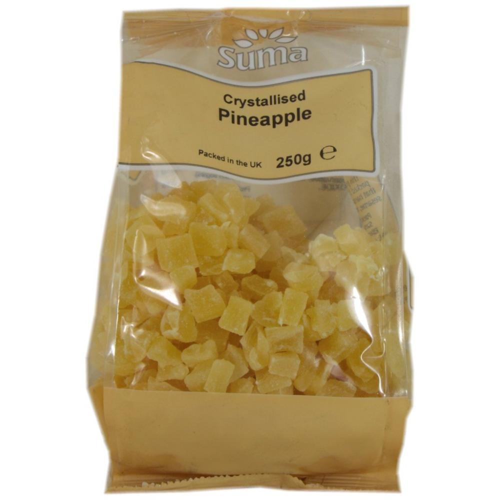 Suma Crystallised Pineapple 250g