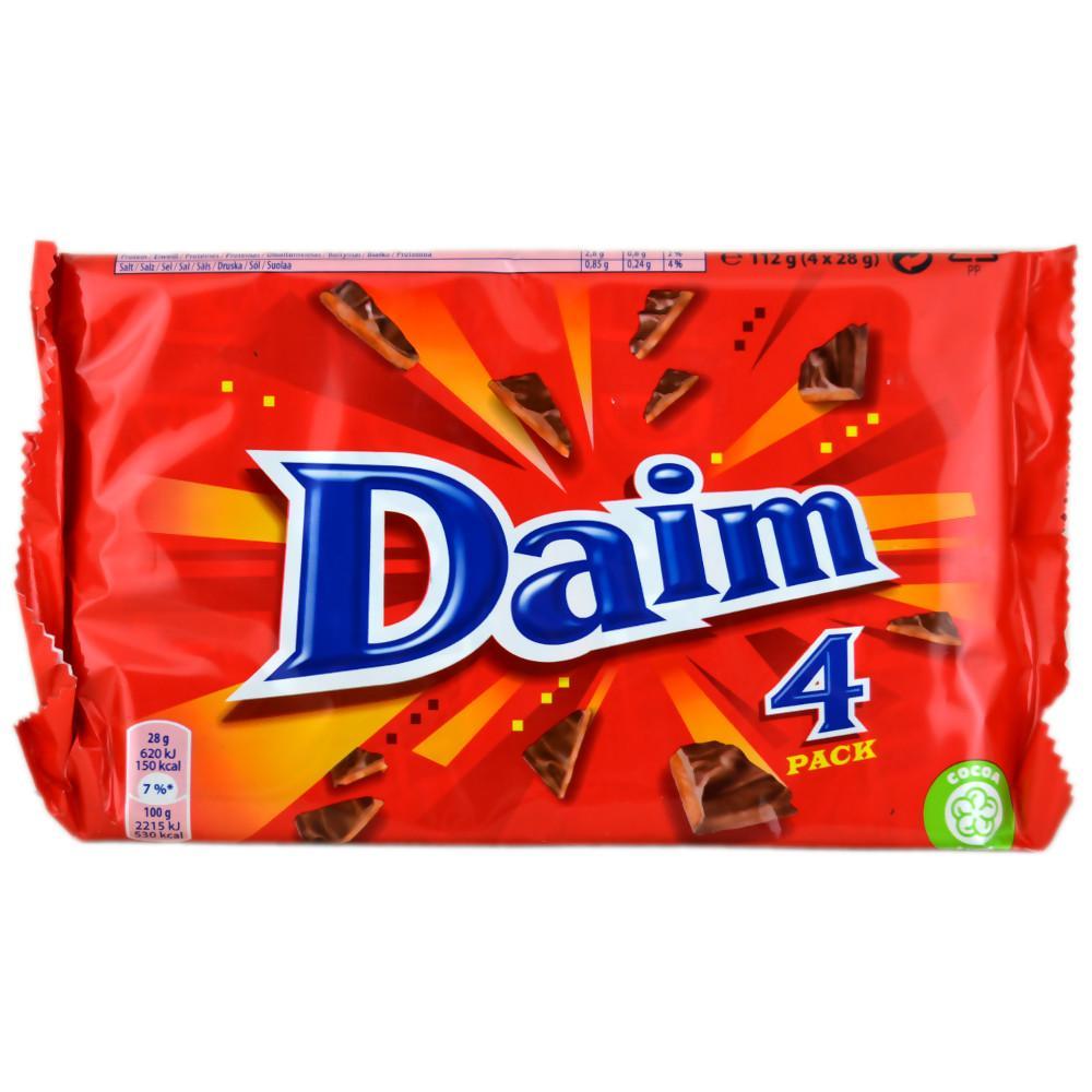 Daim Bar 28g x 4