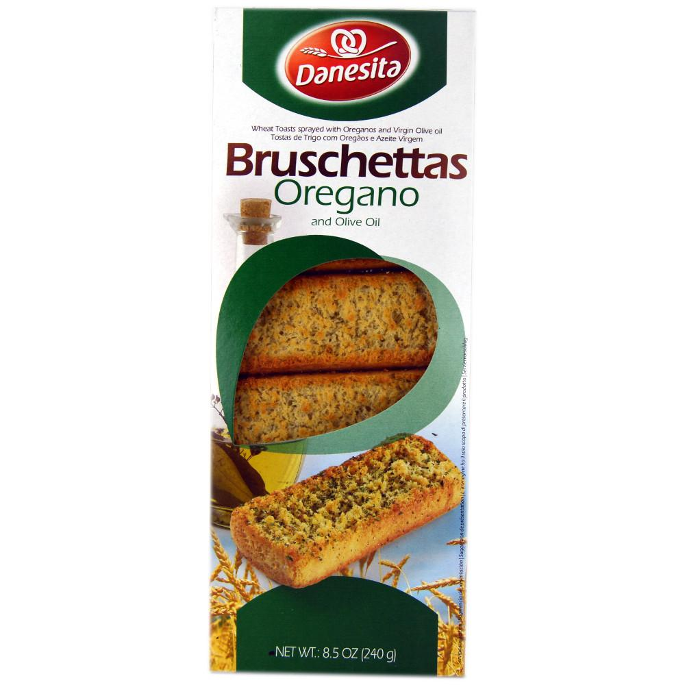 Danesita Bruschettas Oregano and Olive Oil 240g