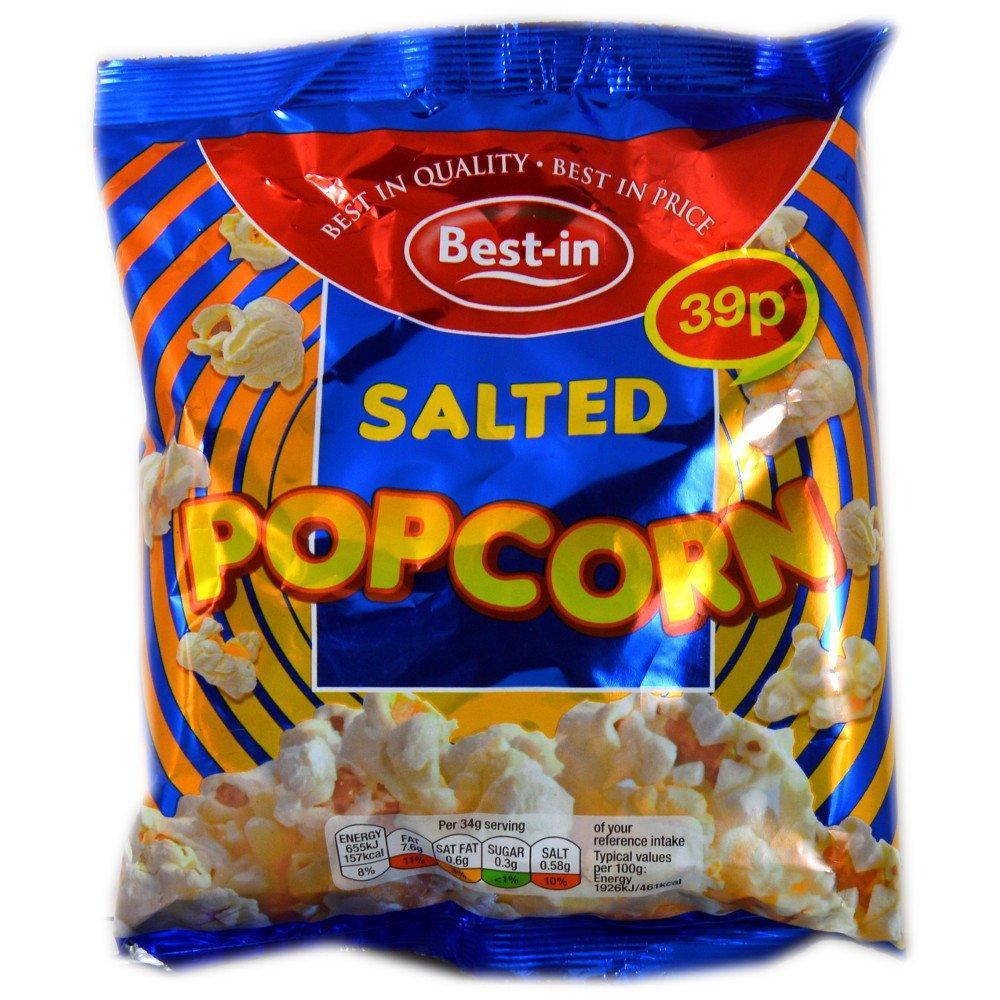 De Identified Salted Popcorn 34g