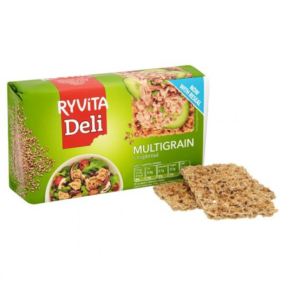 Ryvita Deli Multigrain Crispbread 250g