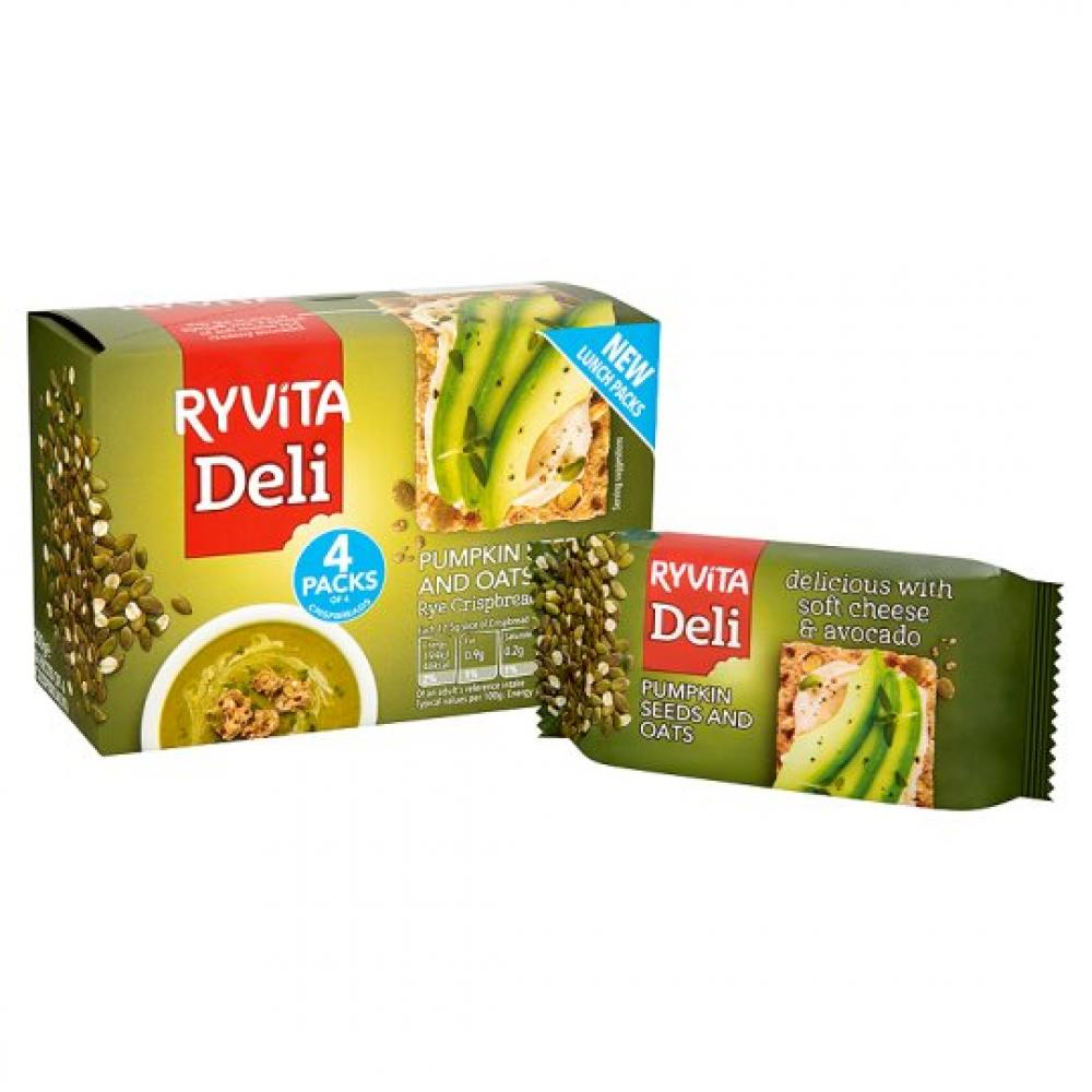 Ryvita Deli Pumpkin Seeds And Oats 200g