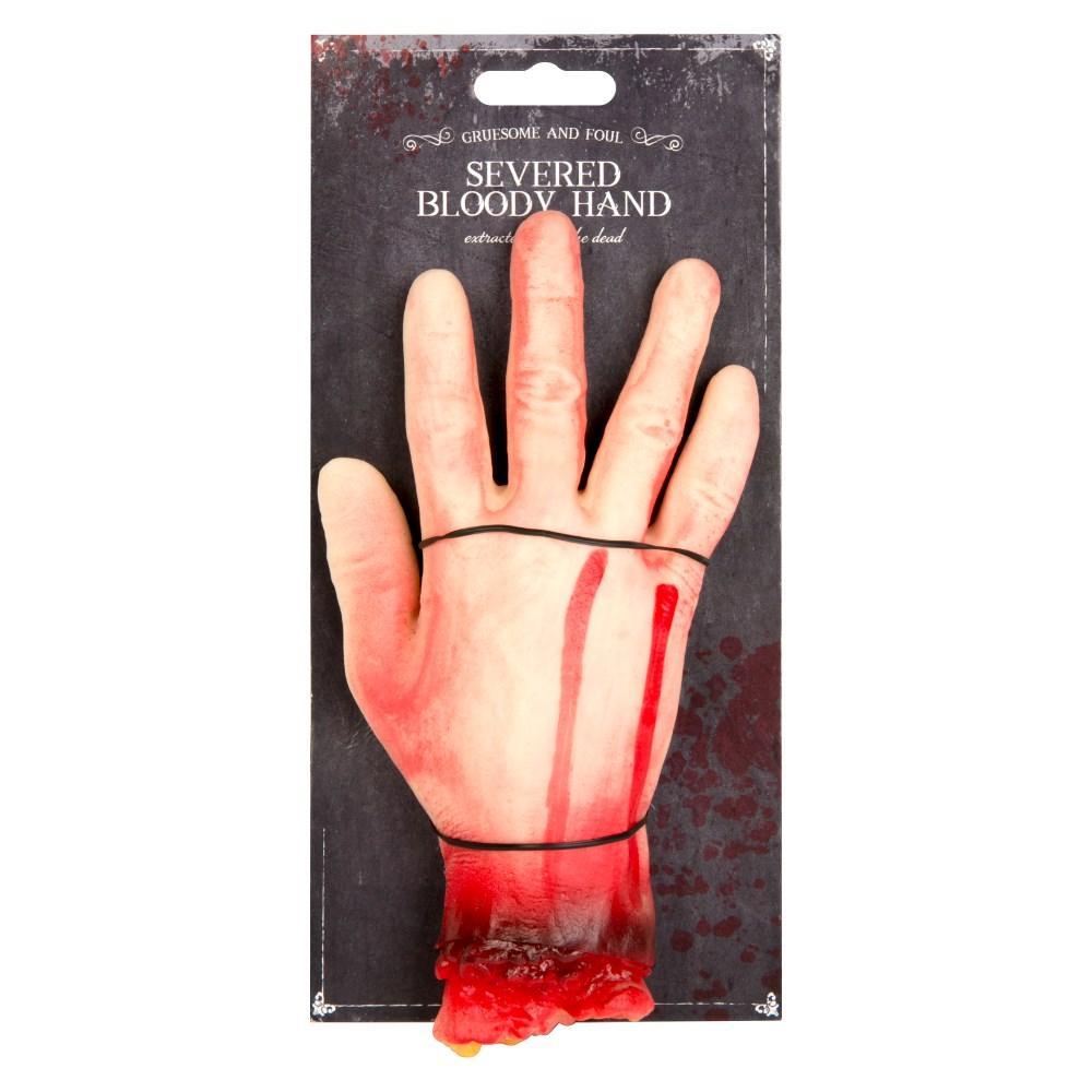 Deluxe Halloween Severed Bloody Hand