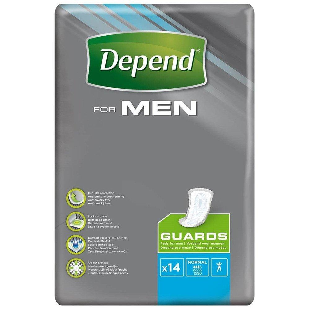 Depend Guards for Men x14