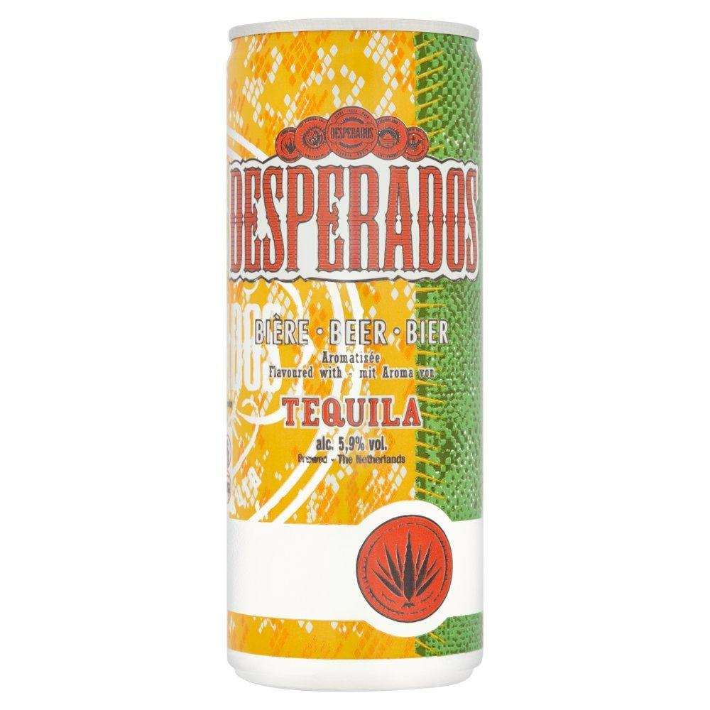 Desperados Beer with Tequila 250ml
