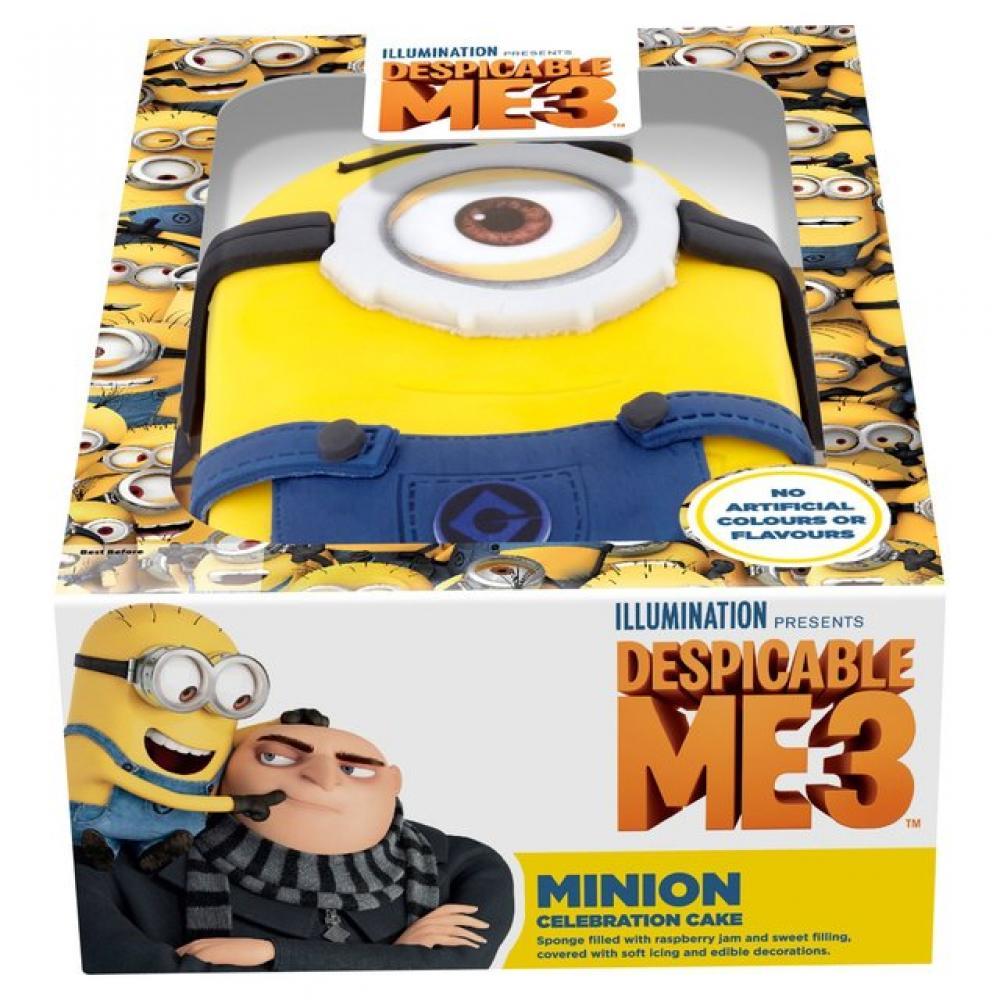 Despicable Me Minion Celebration Cake