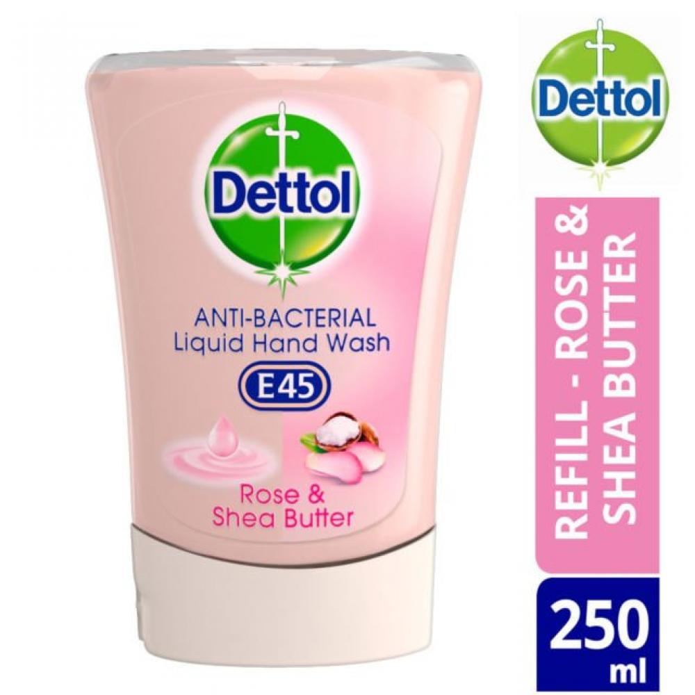 Dettol No Touch Hand Wash System Rose and Shea Butter 250ml