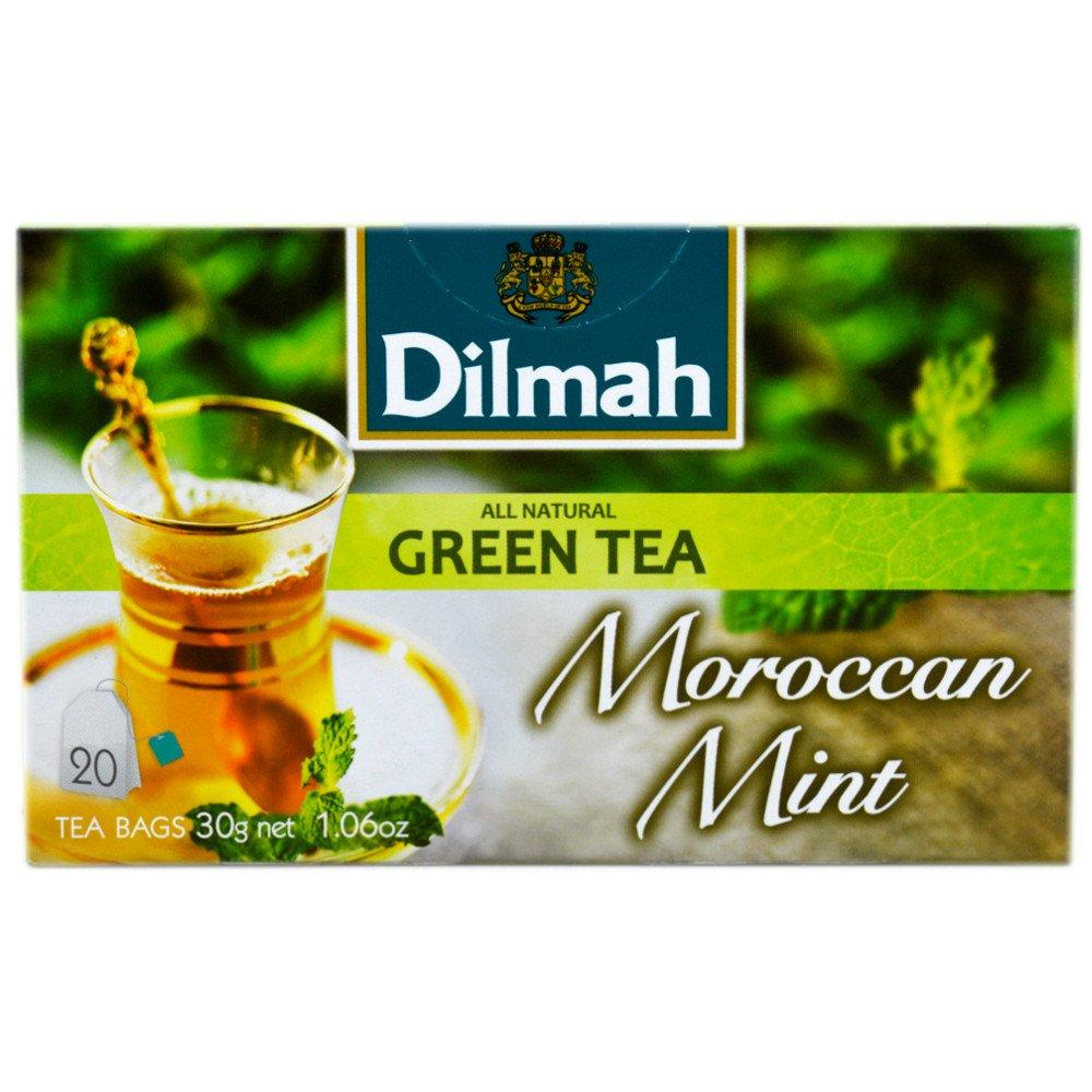Dilmah All Natural Green Tea 20 Tea Bags