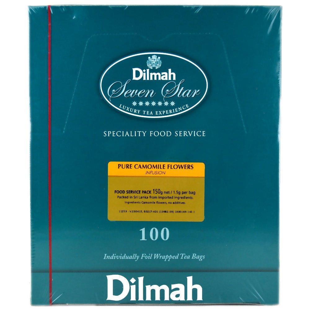 Dilmah Pure Camomile Flowers 100 Tea Bags
