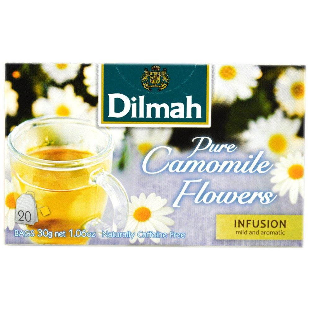 Dilmah Pure Camomile Flowers 20 Tea Bags