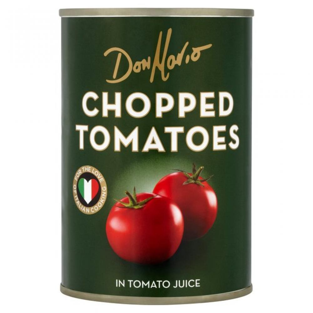 Don Mario Chopped Tomatoes In Tomato Juice 400g 400g